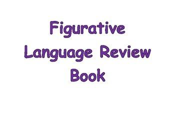 Figurative Language Reivew Book