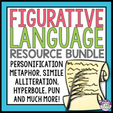 FIGURATIVE LANGUAGE ACTIVITIES, ASSIGNMENTS, & TASK CARDS BUNDLE