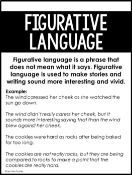 Figurative Language Resources | Activities for Teaching Figurative Language