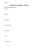 Figurative Language - Review