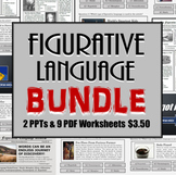 Figurative Language Review Bundle