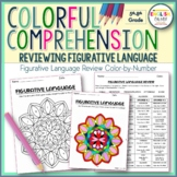 Figurative Language Review #1-Comprehension, Color by Number