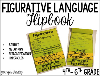 Figurative Language Review Flipbook