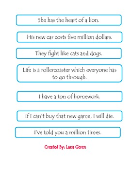 Figurative Language Review Game