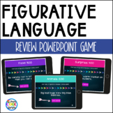 Figurative Language Review PowerPoint and Posters