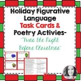 TWAS THE NIGHT BEFORE CHRISTMAS FIGURATIVE LANGUAGE & WRITING ACTIVITY