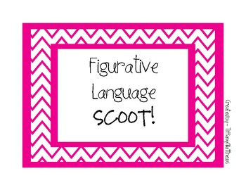 Figurative Language SCOOT!