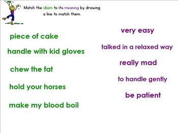 Figurative Language SMART Board Lessons