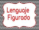 Figurative Language SPANISH terms Lenguaje Figurado