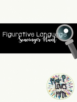 Figurative Language Scavenger Hunt