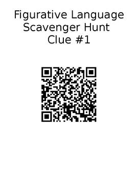 Figurative Language Scavenger Hunt Activity