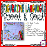 Figurative Language Scoot & Sort Task Cards