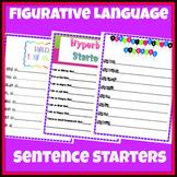 Figurative Language Sentence Starters