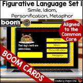 Figurative Language Set 1 Boom Cards