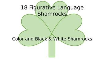 Figurative Language: Shamrocks