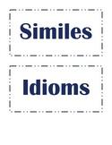 Figurative Language Signs