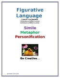 Figurative Language: Simile, Metaphor, Personification: Gr