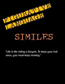 Figurative Language: Similes (video lesson)