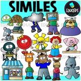 Figurative Language - Similes Clip Art Set {Educlips Clipart}