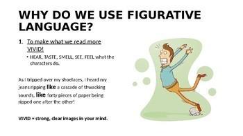 Figurative Language - Similes PowerPoint