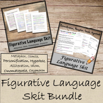 Figurative Language Skit Bundle