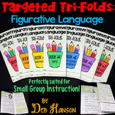 Figurative Language Small Group Instruction: Seven Tri-fol