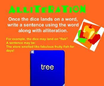 Figurative Language SmartBoard Activities, Games  & Overview