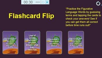 Figurative Language Smartboard Vocabulary Practice