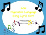 Figurative Language Song Lyric Sort (2016)