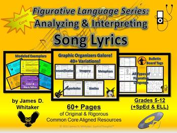 Figurative Language Song Lyrics Analyzing and Interpreting
