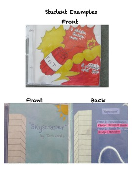 Figurative Language Song Project