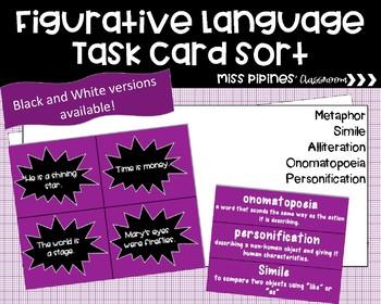 Figurative Language Sort