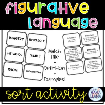 Figurative Language Sort