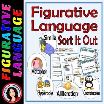 Figurative Language Sort, What Kind Is It? Center Activity