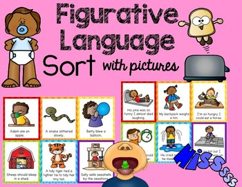 Figurative Language Sort: With Pictures