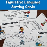 Figurative Language Sorting Cards