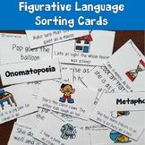 Figurative Language Sorting Cards