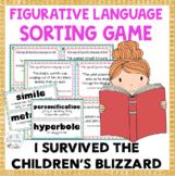I Survived the Children's Blizzard, 1888 Figurative Language Sort