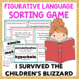 I Survived the Children's Blizzard, 1888 Figurative Language Sort