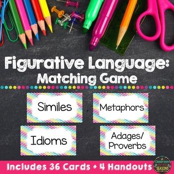 Figurative Language Game and Handouts