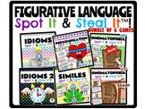 Figurative Language Spot It & Steal It Games