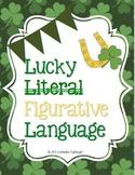 Figurative Language St Patrick Day Style