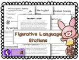 Figurative Language Station Literacy Center Activities