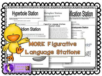 Figurative Language Station Activities 2
