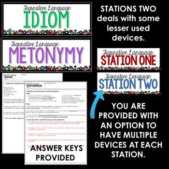 Figurative Language Stations