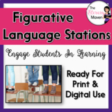 Figurative Language Stations - Print & Digital