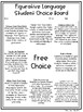 Figurative Language Student Choice Project