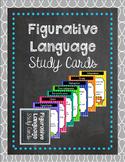 Figurative Language Study Cards