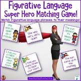 Figurative Language Super Hero Matching Game!
