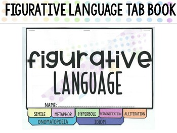 Figurative Language Tab Book